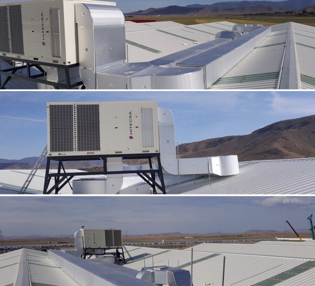Hitecsa - Hitecsa's KUBIC Roof Tops provide climate control to the new production plant of KIA Motors in Argelia