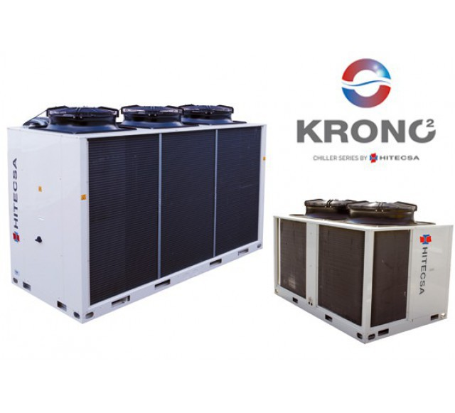 Hitecsa - Hitecsa's Krono 2 chillers in a Madrid Health Center