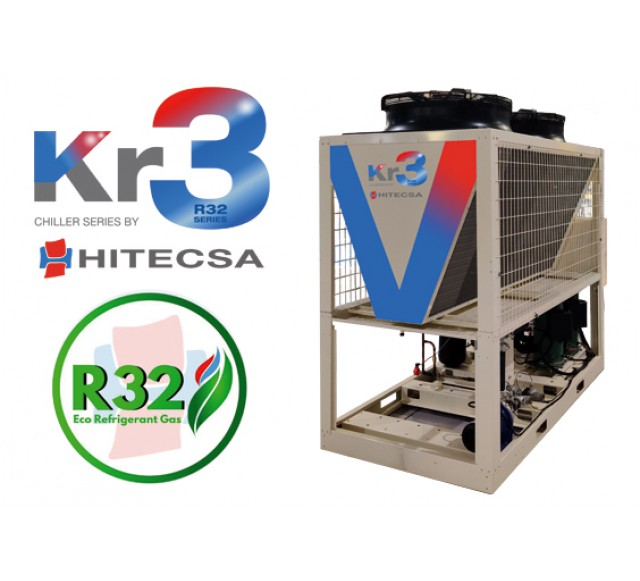 Hitecsa - Hitecsa launches to the market its new Kr3 range, chillers and heat pumps with ecological R-32 refrigerant