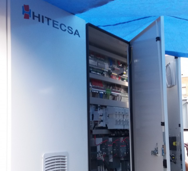 Hitecsa - Hitecsa's high-powered chillers provide climate control to Magneti Marelli's plant in Barberá Del Vallés (Barcelona)
