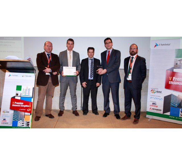 Hitecsa - Hitecsa is awarded in recognition for its outreach activities on Energy Efficiency