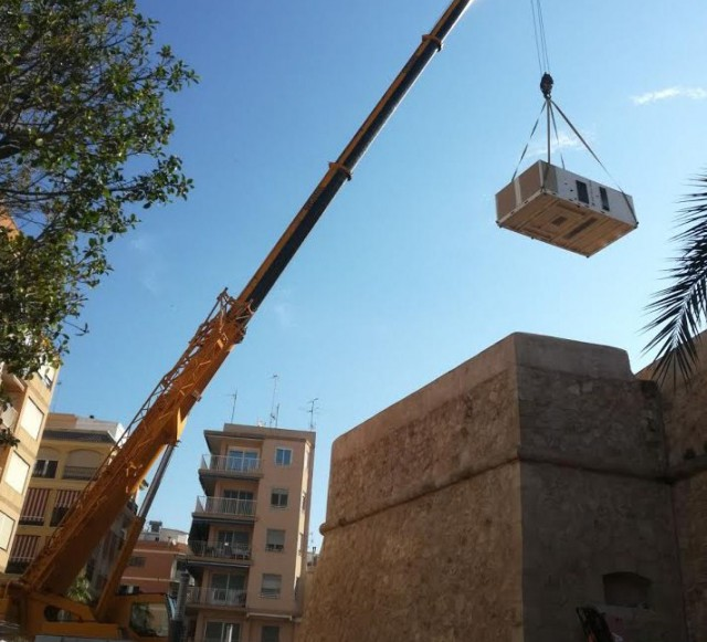 Hitecsa - Hitecsa KUBIC Roof Top series provide climate control to Santa Pola Castle in Alicante