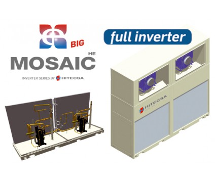 MOSAIC HE BIG INVERTER: COMPACTS/GAINABLES VERTICAUX |  ACVIBA HE BIG - CCVIBA HE BIG / ECVIBA HE BIG