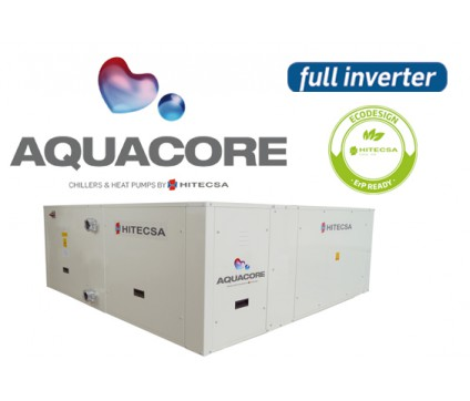 AQUACORE - EWRIBA -FULL INVERTER CHILLER & HEAT PUMP
